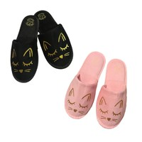 COZY CAT HOUSE SLIPPERS