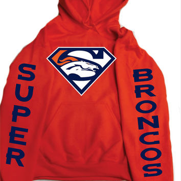 Super Broncos  Unisex Hoodie ,Denver Colorado  nfl  football Hero