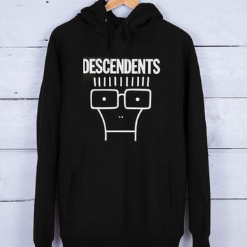 Descendents Premium Fleece Hoodie for Men and Women Unisex Adults