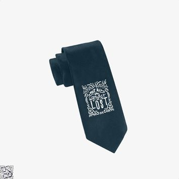 Not All Who Wander Are Lost, Lord Of The Rings Tie