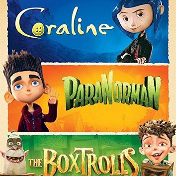 Ben Kingsley & Kodi Smit-McPhee & Henry Selick & Anthony Stacchi -The Boxtrolls / ParaNorman / Coraline
