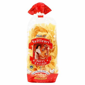 Valfleuri Nid 10 Egg Noodles from Alsace 8.8 oz. (250g)