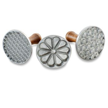 Nordic Ware All-Season Cast Cookie Stamps
