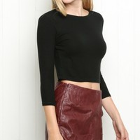 Jaylah Wrap Skirt - Brandy Melville