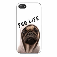 Funny Pug Life 3 iPhone 5/5s Case