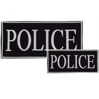 Voodoo Tactical Police Patches