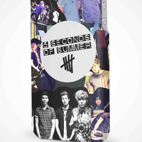 5 Seconds of Summer 5SOS Quotes iPhone 4/4S, 5/5S, 5C Full Wrap 3D Case