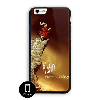 Korn Metal Alternative Rock Music Band iPhone 6 Case