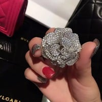 Chanel Women Fashion Rhinestone Brooch