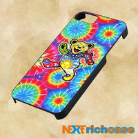The Grateful Dead Dancing Bear Tie Dye For iPhone, iPod, iPad and Samsung Galaxy Case