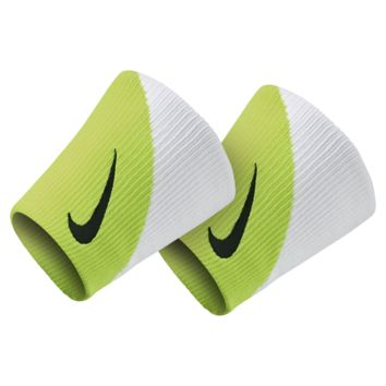 Nike Dri-FIT Doublewide 2.0 Wristbands (Green)