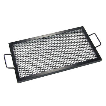 Rectangle Fire Pit Cooking Grill