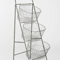 Three Tier Basket Storage - Urban Outfitters