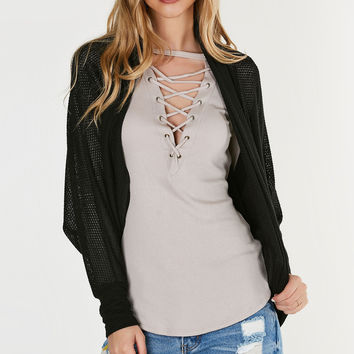 On Top Batwing Cardigan