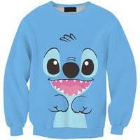 Print Pullover Lovely Hoodies [9017654212]