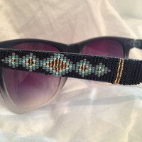 Hand Beaded Sunglasses