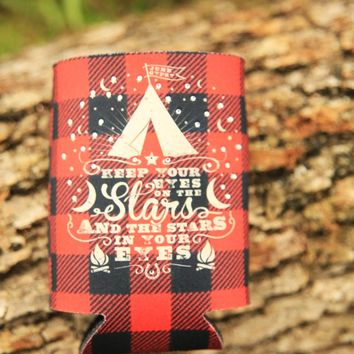 EYES ON THE STARS CAN COOLER - Junk GYpSy co.