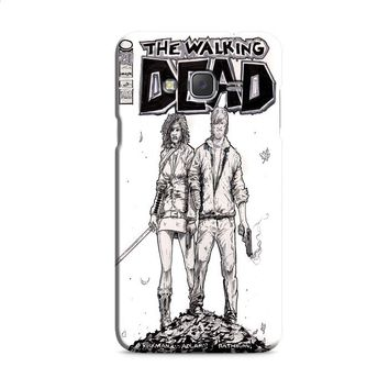 Walking Dead (michonne comics bw) Samsung Galaxy J7 2015 | J7 2016 | J7 2017 Case
