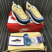 Sean Wotherspoon x Nike Air Max 97 / 1 AJ4219-400 VF SW Hybrid Sport Running Shoes Sale