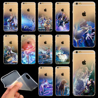 For Apple iPhone 6 4.7'' Soft Transparent Ultra Thin 12 Zodiac Phone Case Cover for iPhone 6 Case Beautiful Birthday Gifts