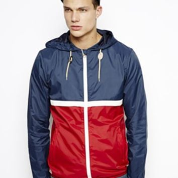 Jack & Jones Jacket In Color Block - Mood indigo