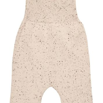 Pompomme Baby Boys' Speckled Knit Overall