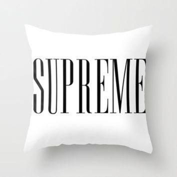 ONETOW American Horror Story Supreme Throw Pillow by NameGame