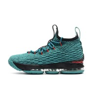 Best Deal Online Nike LeBron James 15 XV Black Green Men Basketball Shoes Sport Sneaker