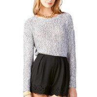 HARPER SCALLOPED SHORTS
