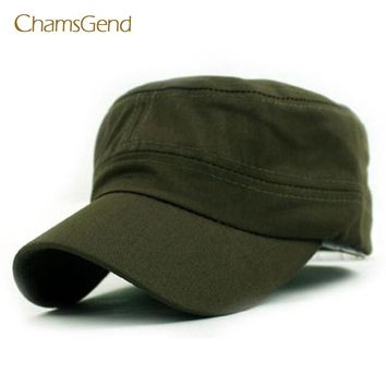 Cadet Style Cotton Cap Hat Adjustable