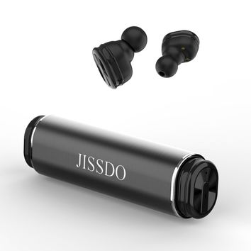 Wireless Earbuds In-ear Bluetooth 4.2 Headphones Waterproof Anti-sweat Sports Headsets Mini HiFi True Stereo Surround Sound Ear