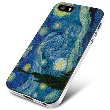 Van Gogh (starry nite crop) iPhone 5 | 5S | 5SE Case Planetscase.com