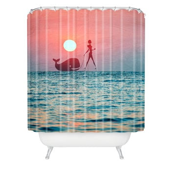 Belle13 Fancy Pet Shower Curtain
