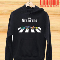 the starter pokemon Pullover hoodies Sweatshirts for Men's and woman Unisex adult more size s-xxl at mingguberkah