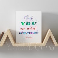 Dr. Seuss Quote 3 Gallery Wrapped Canvas