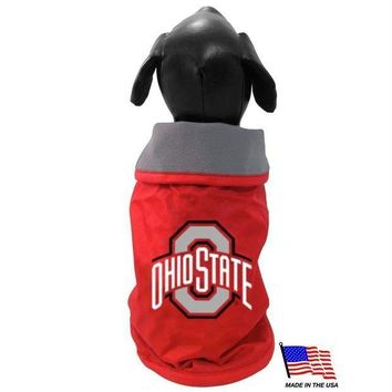 ICIKSX5 Ohio State Weather-Resistant Blanket Pet Coat
