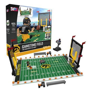 Iowa Hawkeyes Football Team Gametime Set OYO Playset