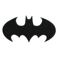 DC Comics Batman Logo Iron-On Patch