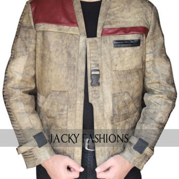 Finn Star Wars The Force Awakens Jacket - Available in All Sizes + Free Gift