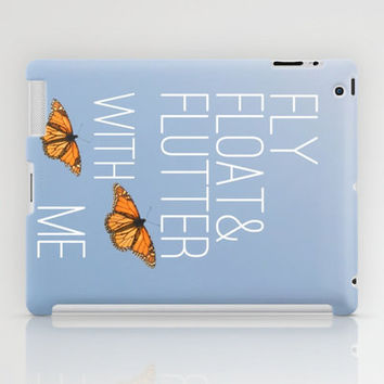 Fly Float Flutter iPad Case by RichCaspian