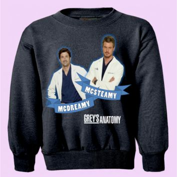 Greys Anatomy McSteamy & McDreamy Crewneck