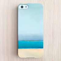 iPhone 6 Case, iPhone 6 Plus Case, iPhone 5S Case, iPhone 5 Case, iPhone 5C Case, iPhone 4S Case, iPhone 4 Case - Sea and Blue