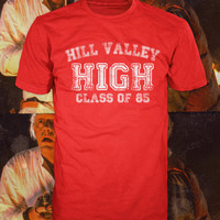 Hill Valley High t-shirt, back to the future  american apparel, Also available on crewnecks and hoodies