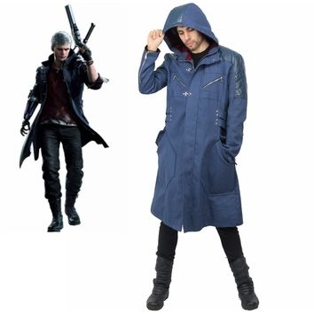 XCOSER Devil May Cry 5 Nero Coat Cosplay Costume
