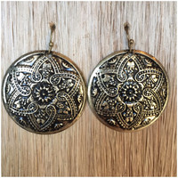 Young Wonder Earrings - Brass