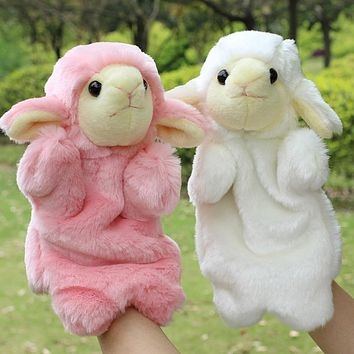 Hand Puppets Plush Puppets Cute Sheet Horse Doll Parent Child Early Children Educational Toys Baby Plush Toys