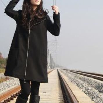 wool coat by yuan123 on Etsy