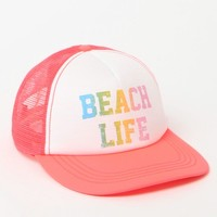Billabong Beach Life Trucker Hat - Womens Hat - Blue - One