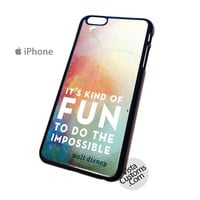 Disney quotes its kind of fun Phone Case For Apple,  iphone 4, 4S, 5, 5S, 5C, 6, 6 +, iPod, 4 / 5, iPad 3 / 4 / 5, Samsung, Galaxy, S3, S4, S5, S6, Note, HTC, HTC One, HTC One X, BlackBerry, Z10