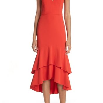 Alice + Olivia Amina Plunging Sweetheart Body-Con Dress | Nordstrom